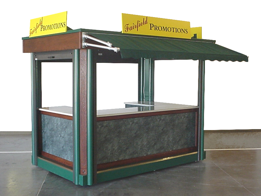 Portable Sales Booth Or Outdoor Kiosk Merchandising
