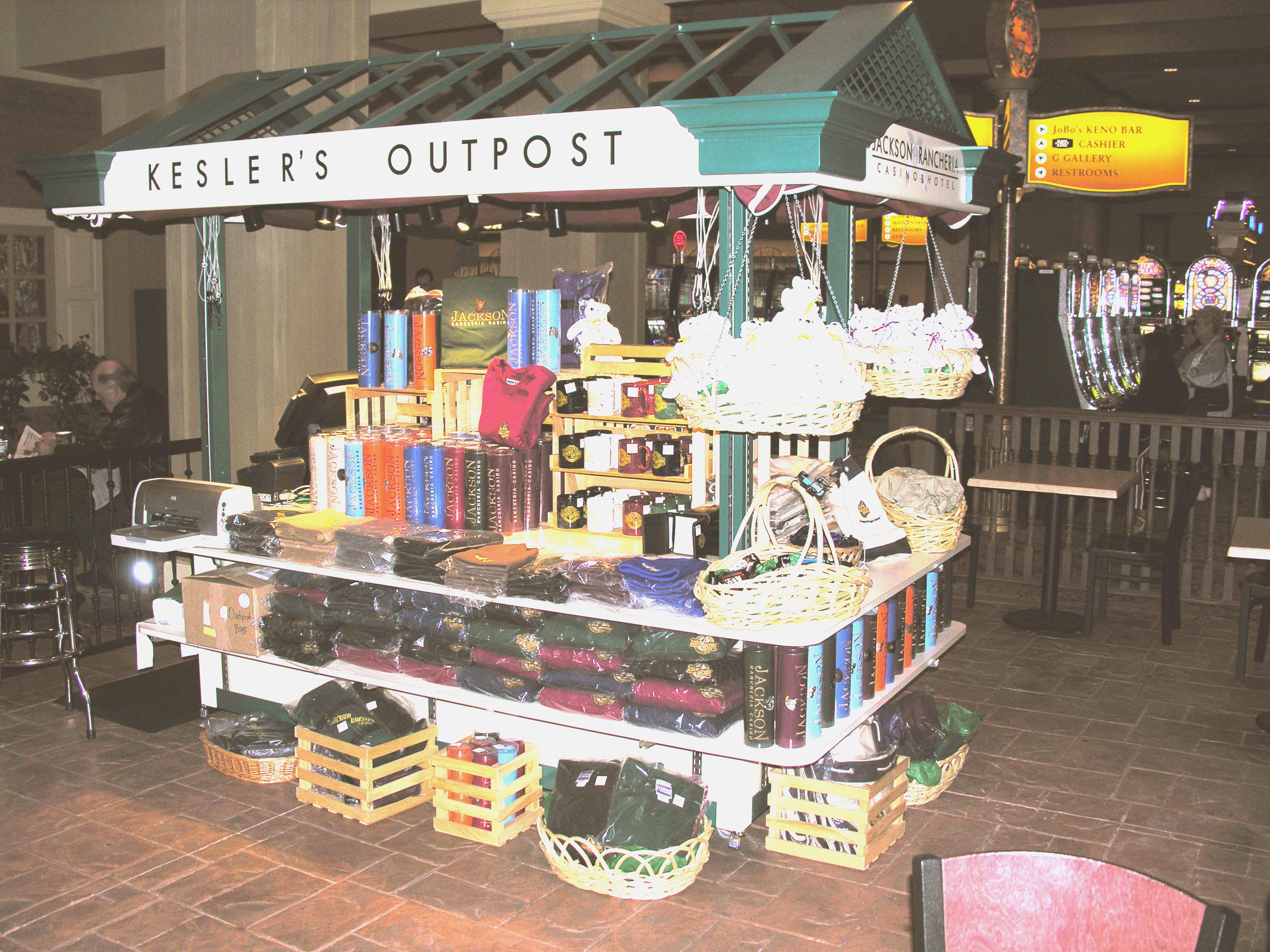 Retail Merchandising Unit Rmu For Casino Gift Shop