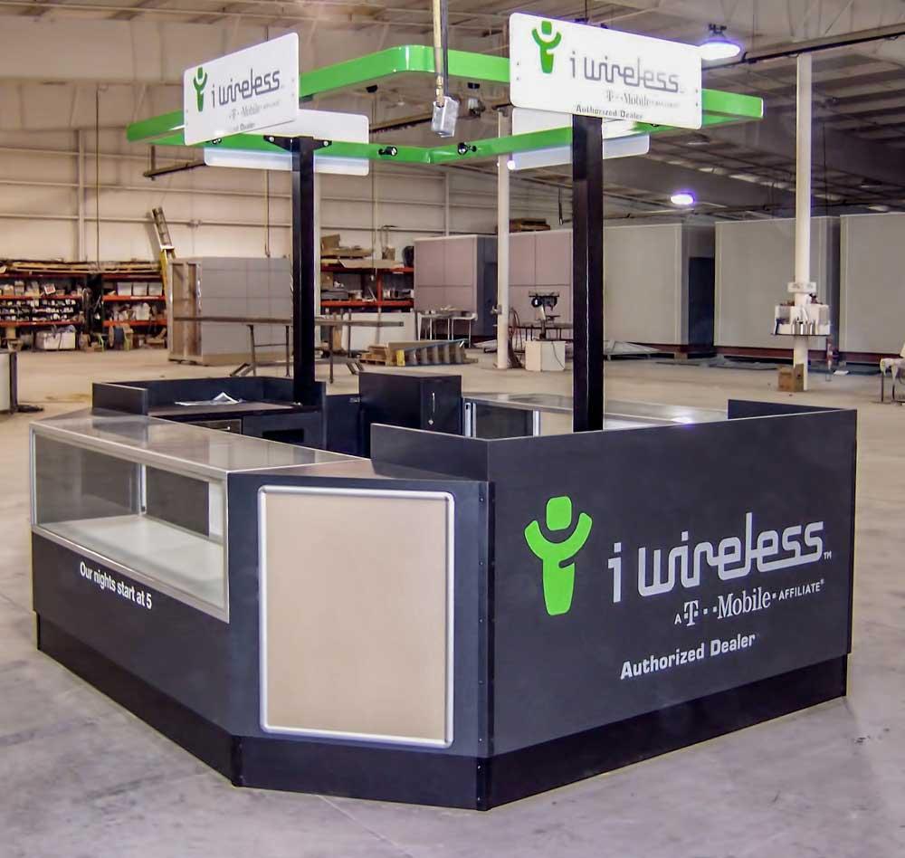 iWireless Retail Sales Kiosk