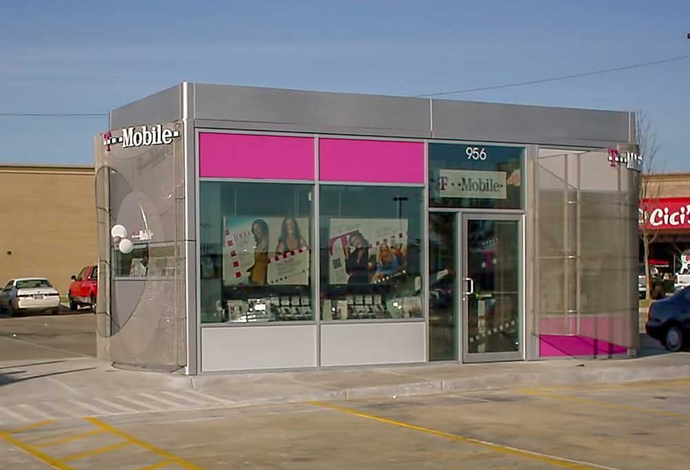 T-Mobile Modular Building