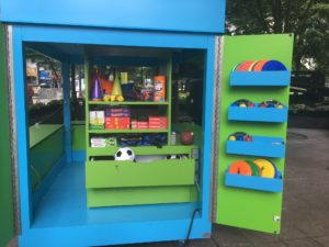 Woodruff Park-Atlanta Retail Cart