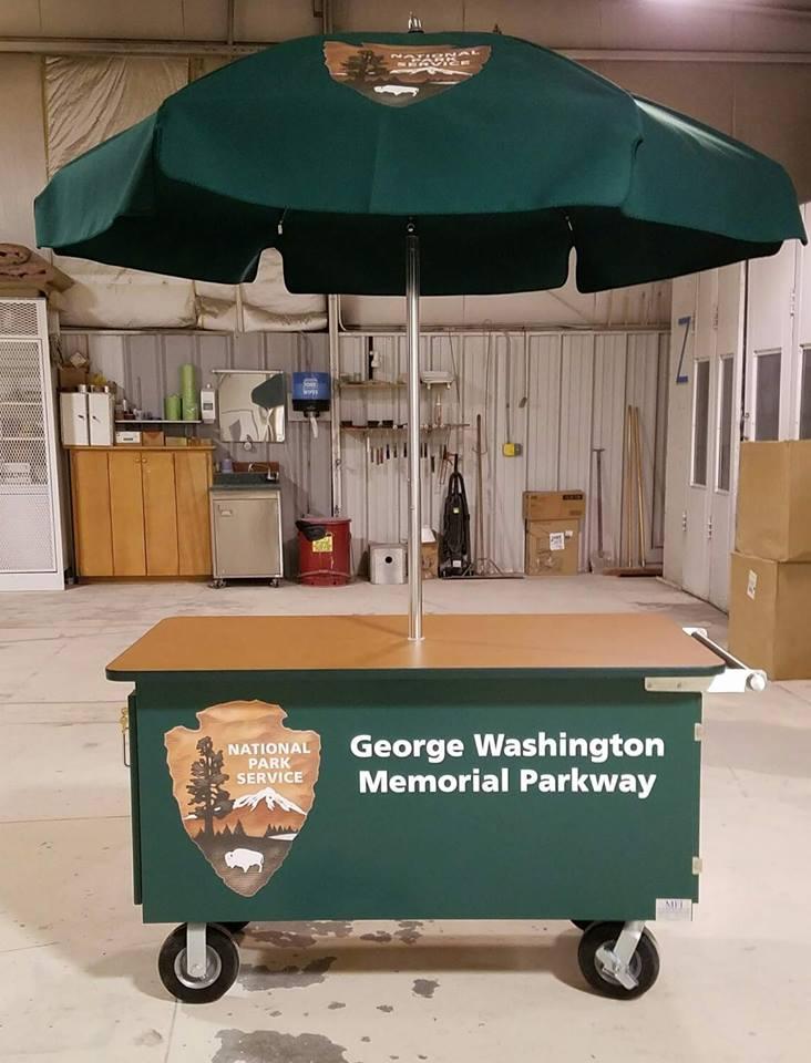 George Washington Memorial Parkway Cart