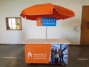 One World Trade Center Cart