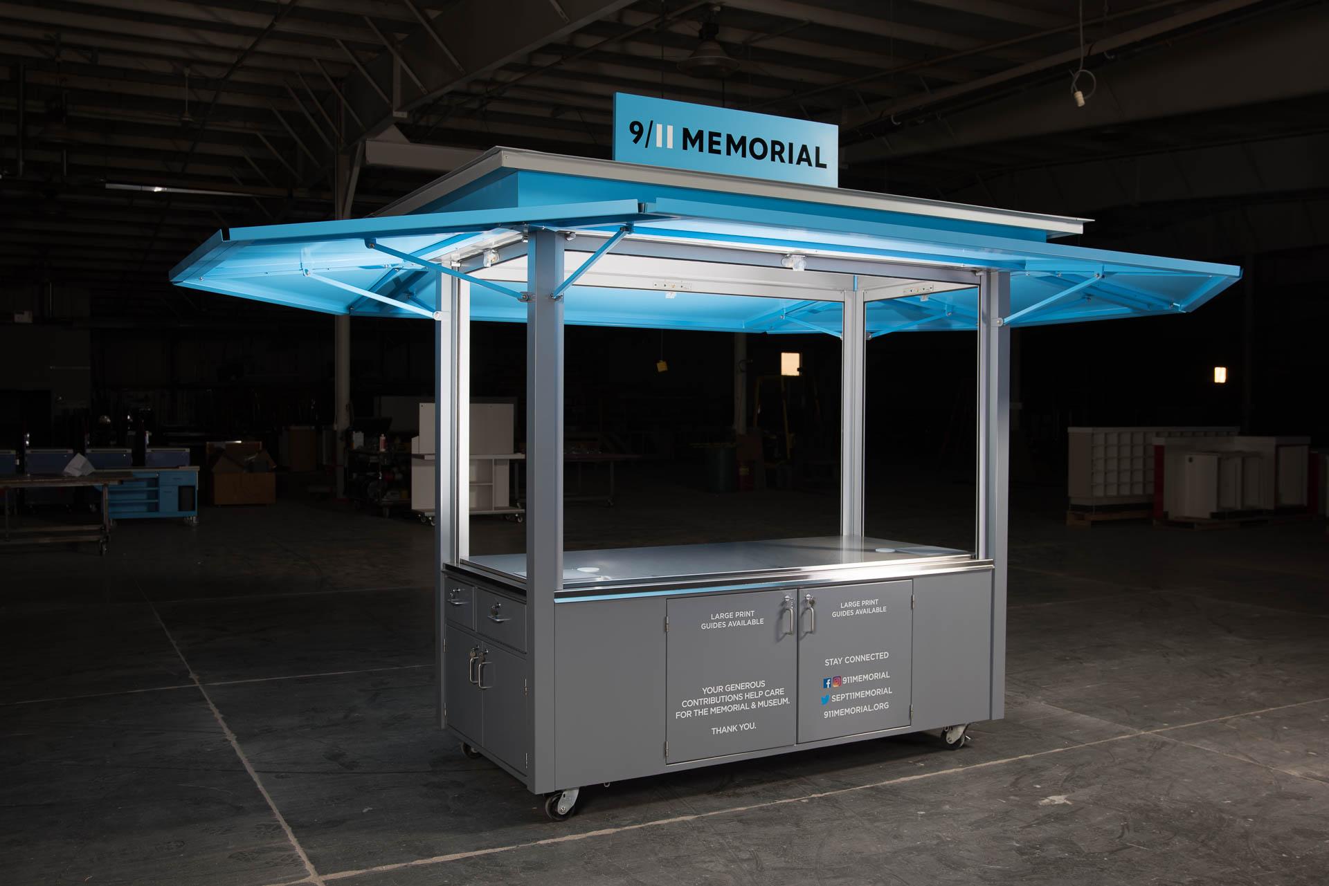 911 Memorial Cart