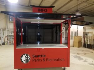 Seattle Parks & Rec Cart