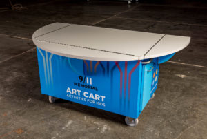 911 Youth Art Cart
