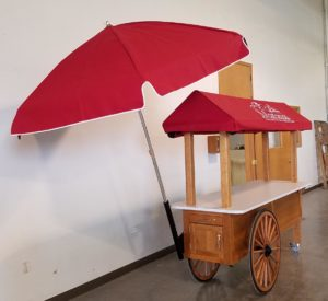 City of Manassas Wagon Wheel Cart