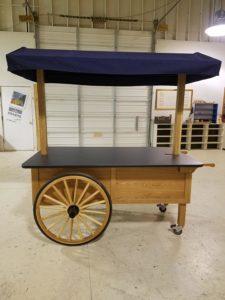 Marriott Hotel Florida Wagon Wheel Retail Cart